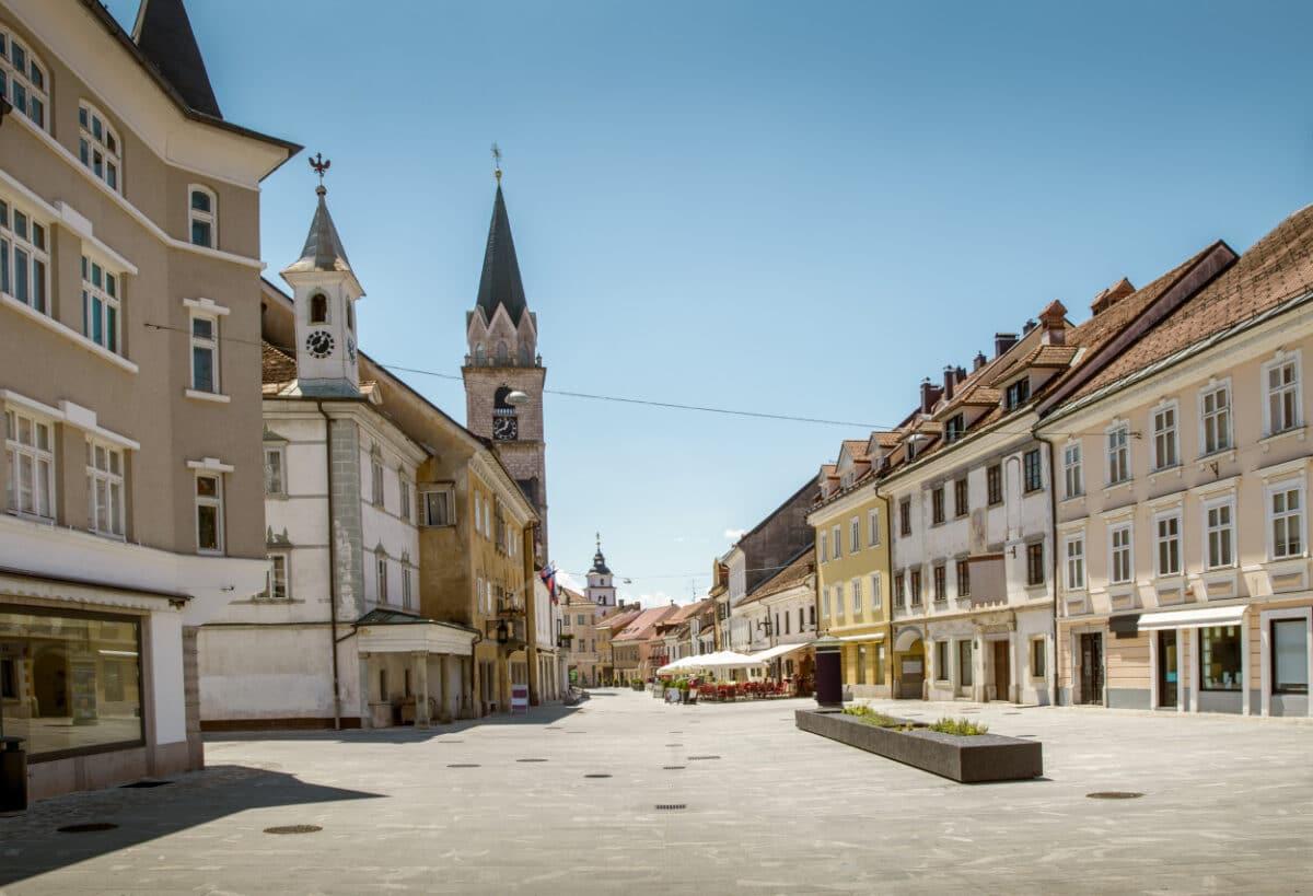 Wolt Kranj center mesta