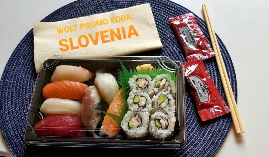 Azijska hrana Sushi